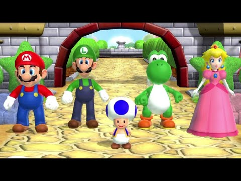 Mario Party 9 - Garden Battle