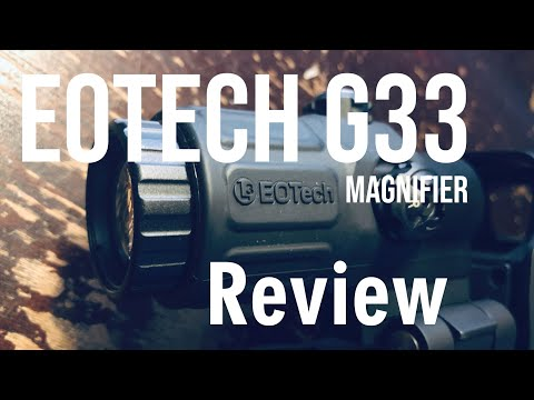 EOTech G33 3X Magnifier 3500-Round Review