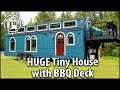 Download lagu Big Fancy TINY HOUSE with BBQ Deck. Better Than An RV!
