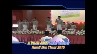 Al Wahdah SAMER Zon Timur 2015 lagu kontemp
