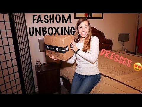 Fashom Unboxing, Try On & Review | February 2020 | Dresses Galore!