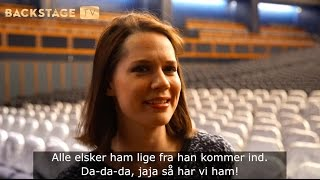 BACKSTAGE TV: Amalie Dollerup - Saturday Night Fever The Musical