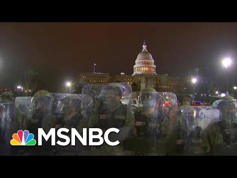 D.C. Officials: Four Dead After Chaotic Pro-Trump Capitol Riot   The 11th Hour   MSNBC
