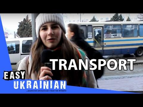 Easy Ukrainian 10 - Transport