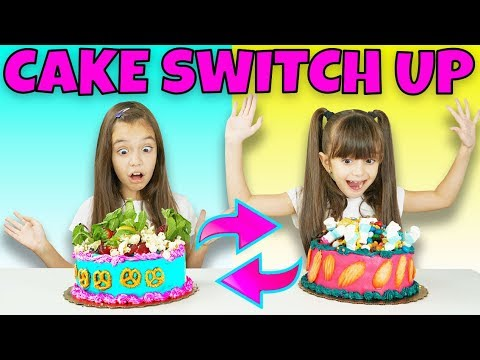 CAKE SWITCH UP CHALLENGE!
