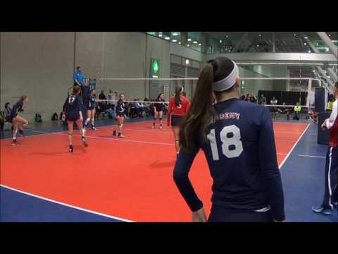 Taylor Cole   Long Island Volleyball Academy   Mizuno Boston Volleyball Festival   2017   Match 2 v