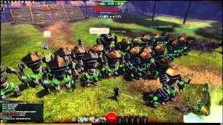 Guild Wars 2 Funny Golem Rush Gates of Madness Style WvW GW2