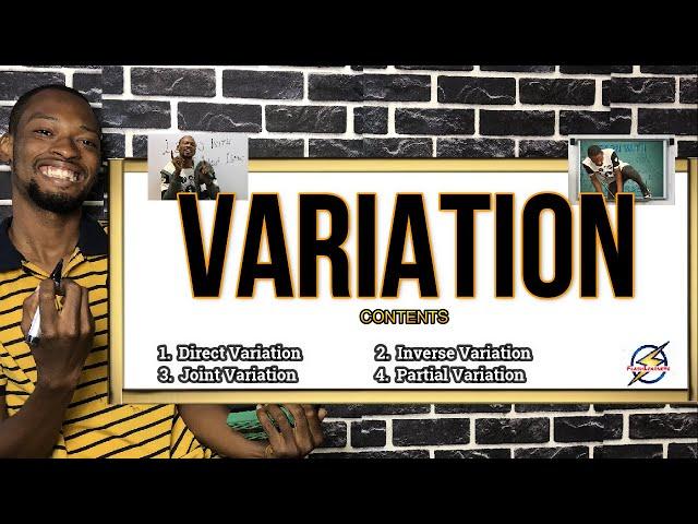 Variation For Schools, Jamb And Waec Pt. 1