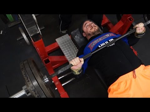 Sample week of Bench Press Training