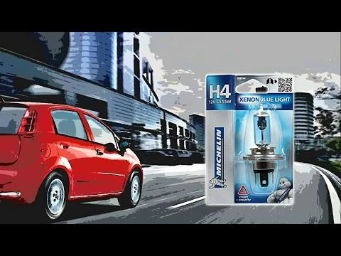 Prova Lampadine H4 blue xenon Michelin