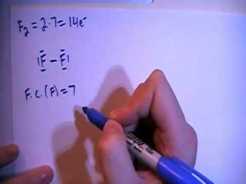 difluorine f2 lewis dot structure youtube rh youtube com C2H6 Lewis Dot Diagram C2H4 Lewis Dot Diagram