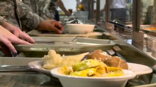 Wright-Patterson Dining Facility BROLL