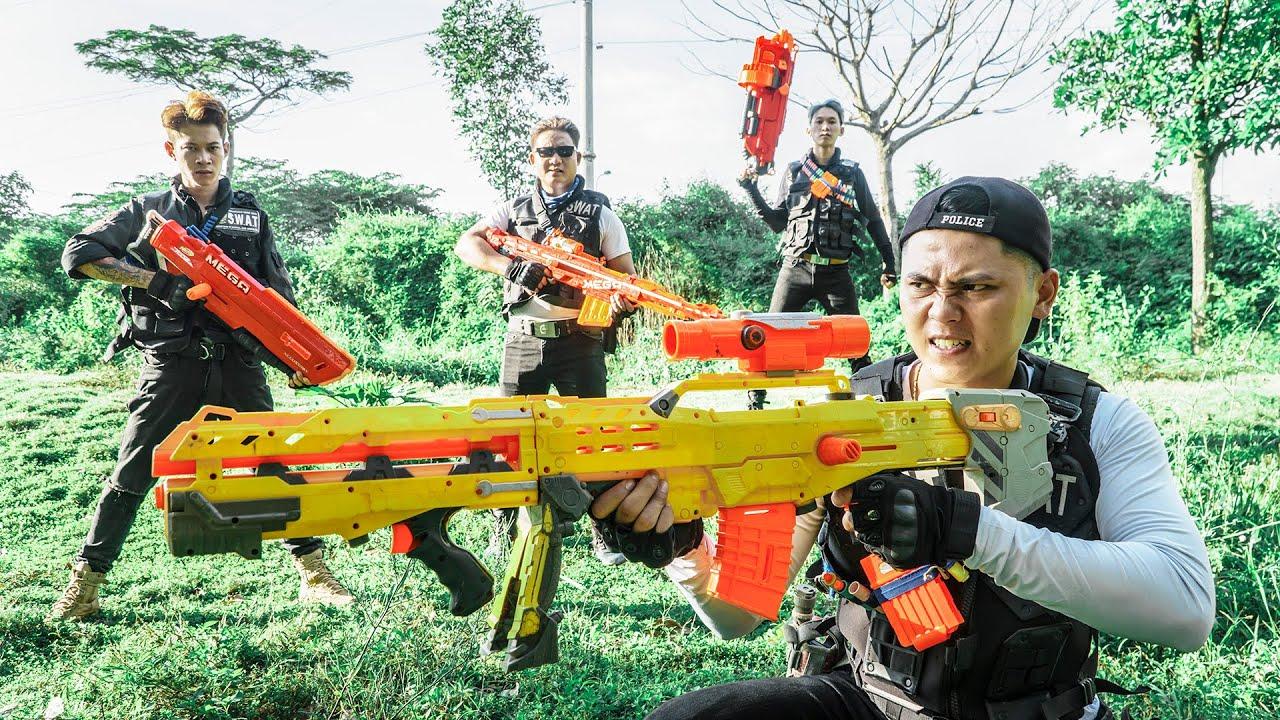 LTT Game Nerf War : Warriors SEAL X Nerf Guns Fight Mr.Zero Crazy Confront The Criminal World
