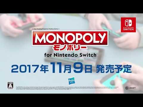 「モノポリー for Nintendo Switch」アナウンストレーラー