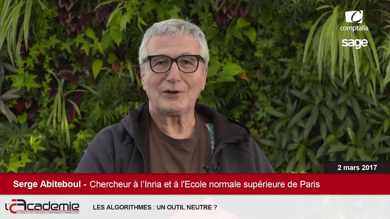 Les Entretiens de l'Académie : Serge Abiteboul et Gilles Dowek