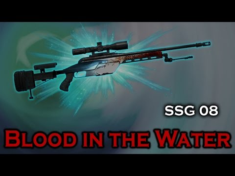 Blood in the Water SSG 08 StatTrak stickers skin preview FN/MW/FT/WW/BS