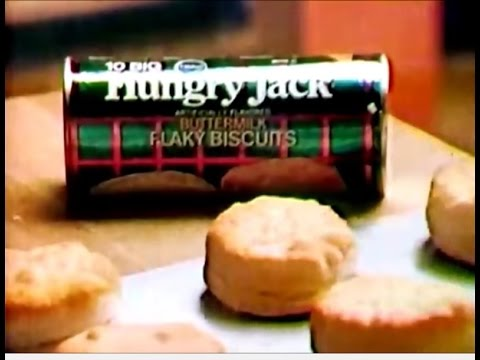Hungry Jack Biscuits Commercial 1975 Youtube