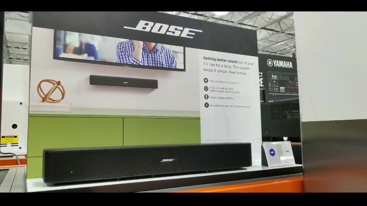 4da164e1645 Costco! BOSE Solo TV + Bluetooth Speaker! $219!!! - YouTube