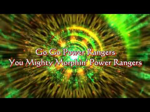 Go Go Power Rangers Lyrics HD   Mighty Morphin Power Rangers   YouTube