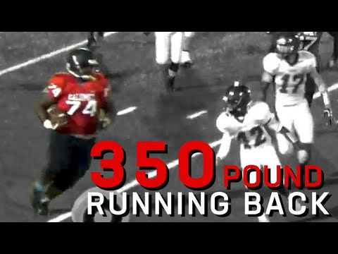 350pound running back Joshua Johnson is destroying competition
