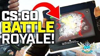 CS:GO BATTLE ROYALE Gameplay! Danger Zone!