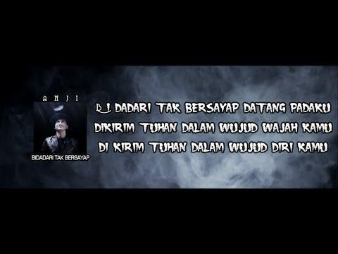 Anji - Bidadari Tak Bersayap (Official Lyric Video)