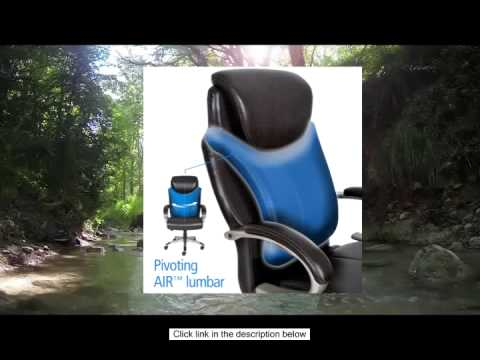 serta air health and wellness executive office chair big and tall roasted chestnut - Serta Executive Office Chair