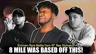 Eminem A Rare Battle From 1997 Rap Olympics (REACTION!)