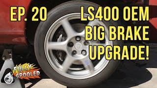 lexus sc300 drift build ep 20 ls400 oem big brake upgrade bbk