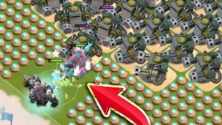 CRAZY BASES vs UNKILLABLE SCORCHER! I HUGE Healing! Boom Beach Gameplay