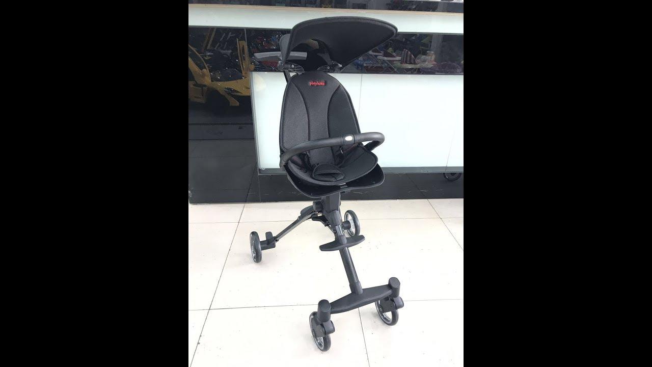 Xe đẩy thông minh 4 bánh cao cấp cho bé S113
