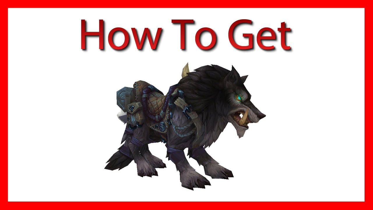How To Get: Garn Nighthowl   100% Drop   [World Of Warcraft: Warlords Of  Draenor]   YouTube