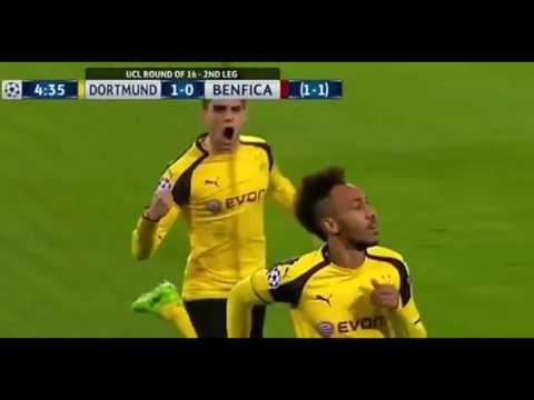 Download Borussia Dortmund vs Benfica  4 0 08/03/2017  All Goals Highlights HD