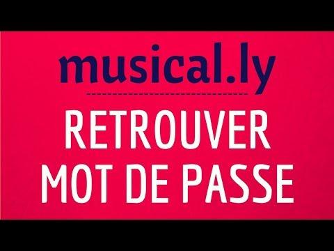 MOT de PASSE Musically, comment RETROUVER son mot de passe Musically