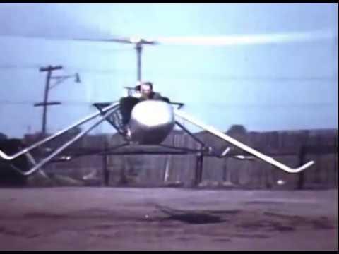 Bell Helicopter   Early Flight Test Film