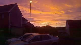 SUNRISE in GALWAY * IRELAND * September 23, 2016 *