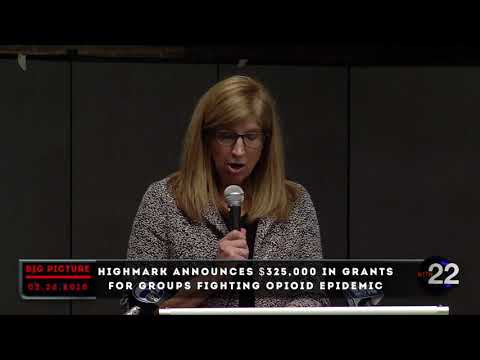 WITN Big Picture presents Highmark's $325,00 Grant to fight Opioid Addiction - February 26, 2018