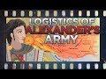 Alexander the Great: Logistics