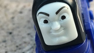 racing vinnie thomas and friends wooden toy train review   character friday ep 150