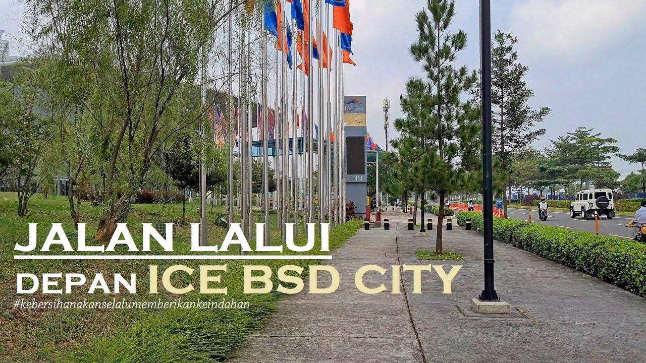 【4K60】Walking Around BSD City ~ ICE BSD [Indonesia Convention Exhibition] via Hotel Santika Premiere