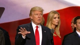 Donald and Ivanka Trump discuss RNC speeches