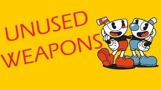 Cuphead - Unused Weapons & Charm