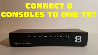 REVIEW: MT-VIKI 8 Ports 8-In 1-Out AV RCA Splitter