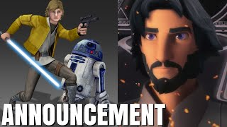 Star Wars Rebels SEQUEL Series UPDATE and 2 MORE Animated Shows Announcement and Breakdown