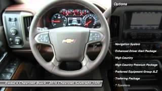 2016 Chevrolet Silverado 1500 Oconomowoc WI 16C415