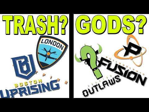 Why Boston Uprising Is STRUGGLING! London Spitfire Is AWFUL! Philly Is Insane And ?Houston Outlaws?