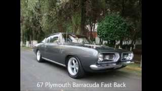 Plymouth Barracuda 1964 to 1974