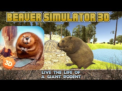 Beaver Simulator 3D Animal Quest Game-By Virtual Animals World-Android