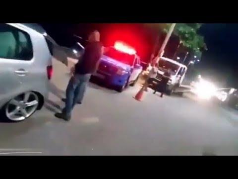 Fox Rebaixado Tomando Enquadro  a Policia Riscou o Carro.