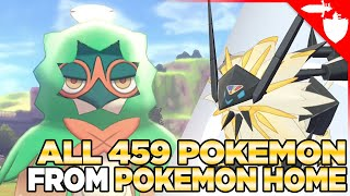 ALL 459 Pokémon You Can Transfer to Pokemon Sword and Shield from Pokemon Home